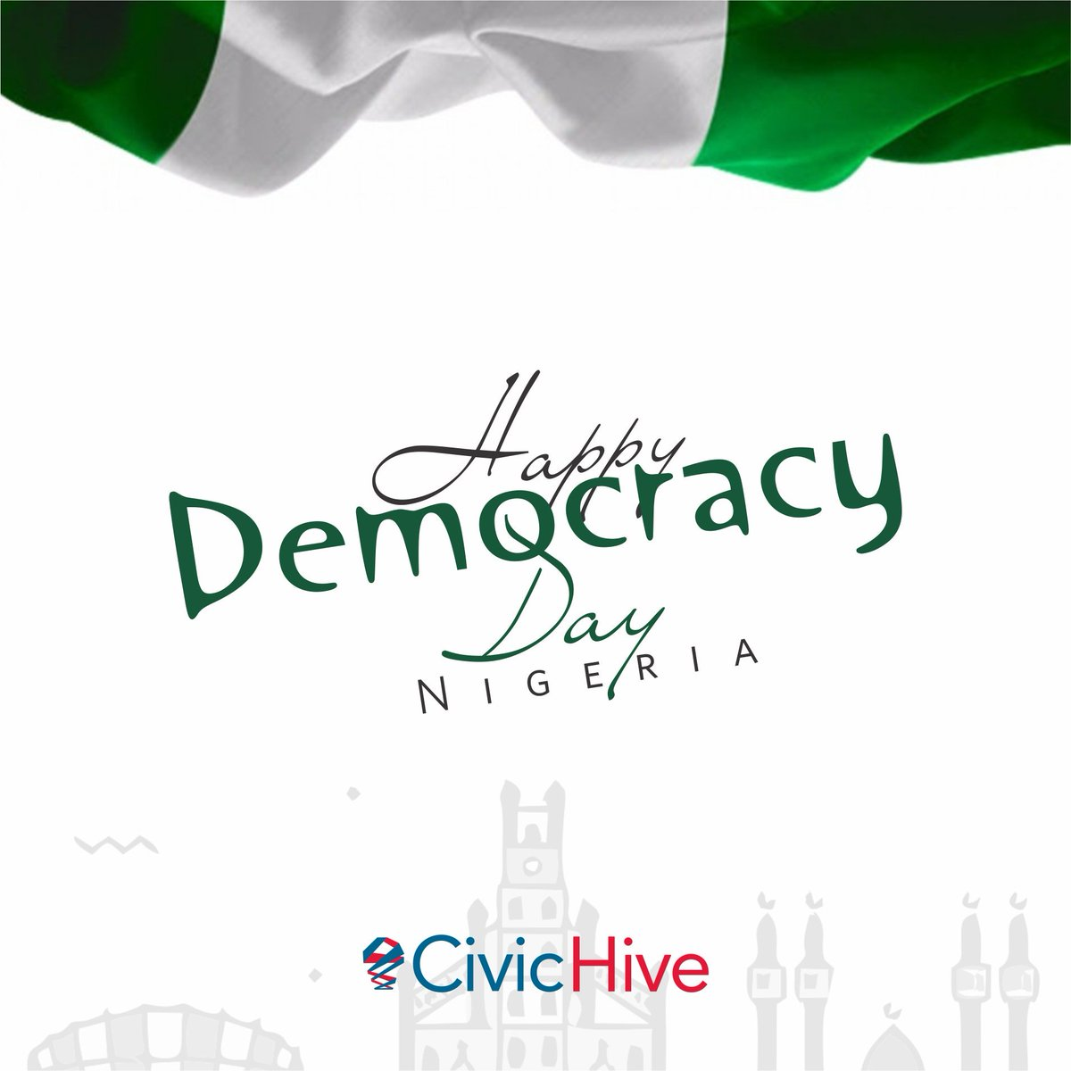 It's a New Day Nigeria! A New Dawn as well. In 20 years, we have been able to hold this Democracy.   Today, we celebrate the #4thRepublic   We still have a lot of work to get done.   #happydemocracyday  #DemocracyAt20  #NGDemocracyAt20 <br>http://pic.twitter.com/f4BNpZqtzo