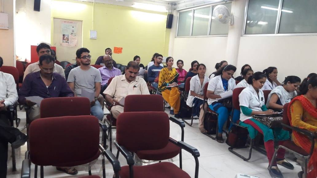 On June 7, NMC health department in collaboration with Tata trusts has organised a training program for the Pharmacists of Urban Primary Health Centres & NMC health posts.