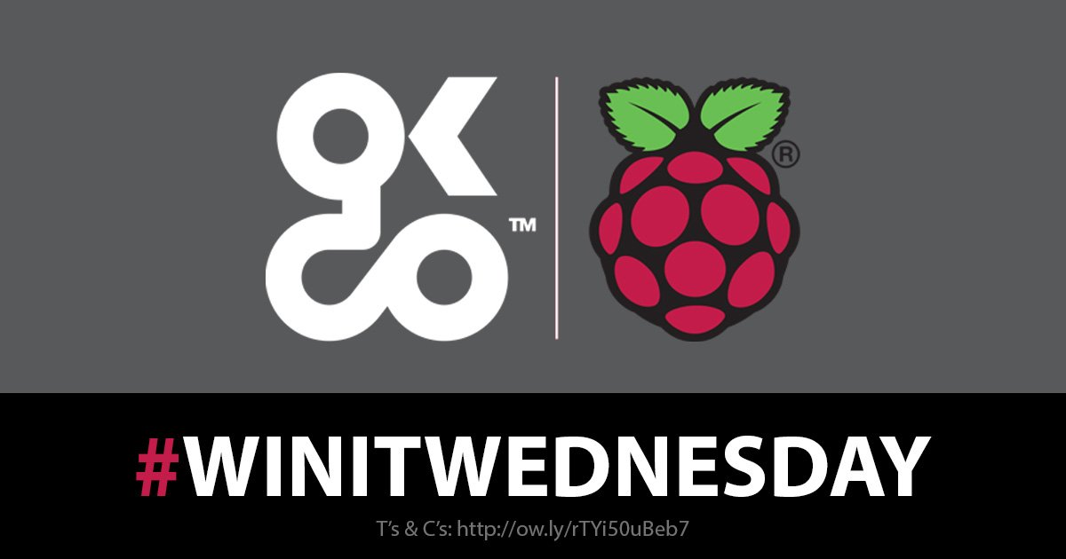 🎉COMPETITION TIME 🎉It's #WinItWednesday for your chance to #WIN a Raspberry Pi 3 Model B+ Simply FLW @LetsOKdo LIKE and RT this post with a COMMENT below tagging a friend who you think would like a Raspberry Pi. Ends: 4pm on Wednesday 19th June 2019T&Cs applyGood Luck 🤞