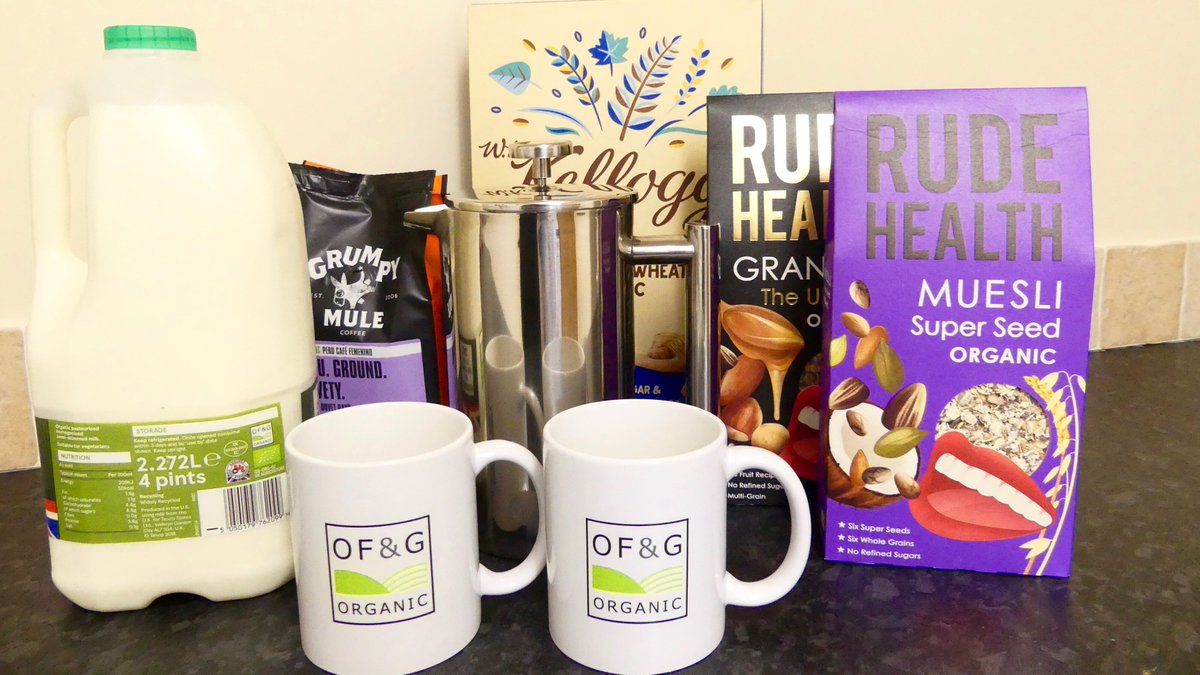 It's #WakeUpToOrganic day! A big shout out to all our licensees including those who produced our team's organic breakfast this morning @GrumpyMule @rudehealth. Are you waking up to organic today? @organicUK #FeedYourHappy<br>http://pic.twitter.com/1tSNbeTNil