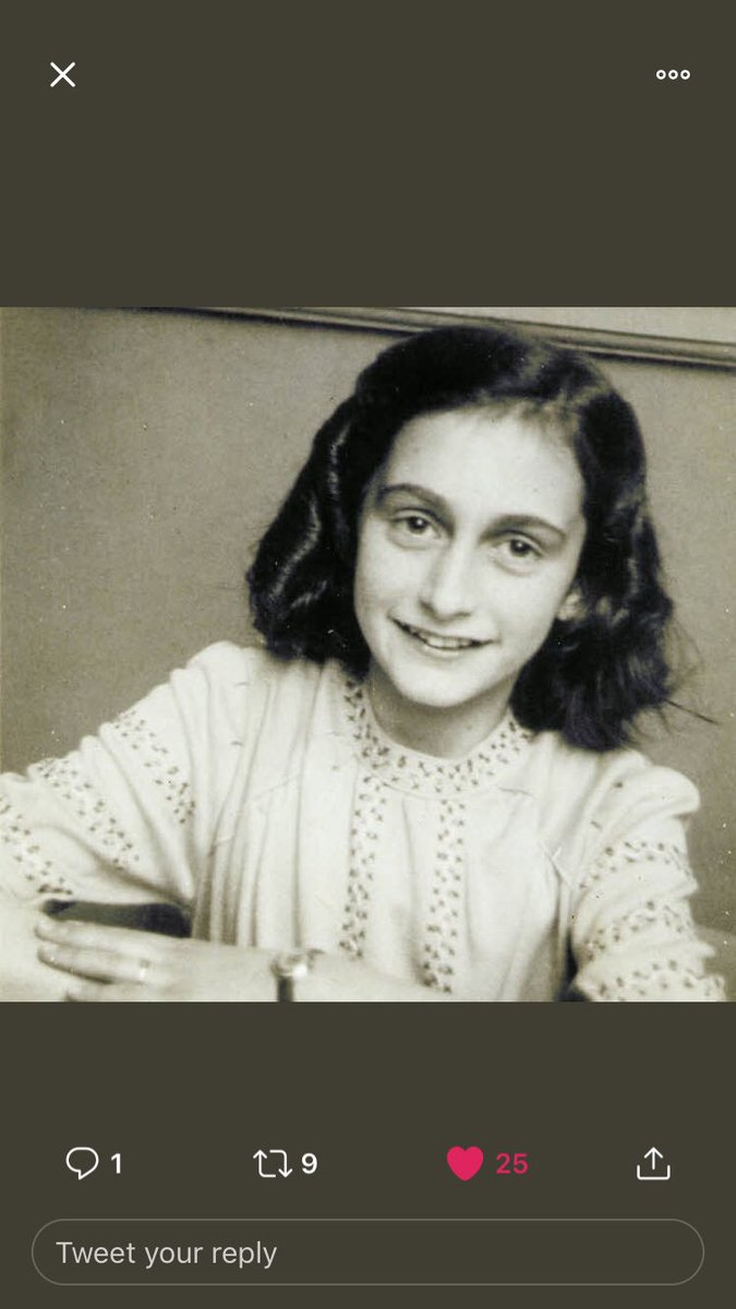 Hopeful. Optimistic. Strong. #AnneFrank90 <br>http://pic.twitter.com/Bzl66w405Y
