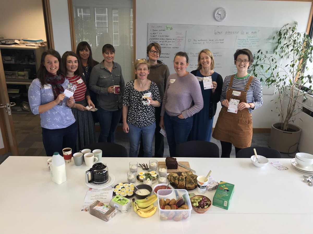 @SoilAssocScot team have come up trumps with this years #WakeUpToOrganic breakfast. What a way to start the day!  @organicuk<br>http://pic.twitter.com/Vq2ATsmH0M