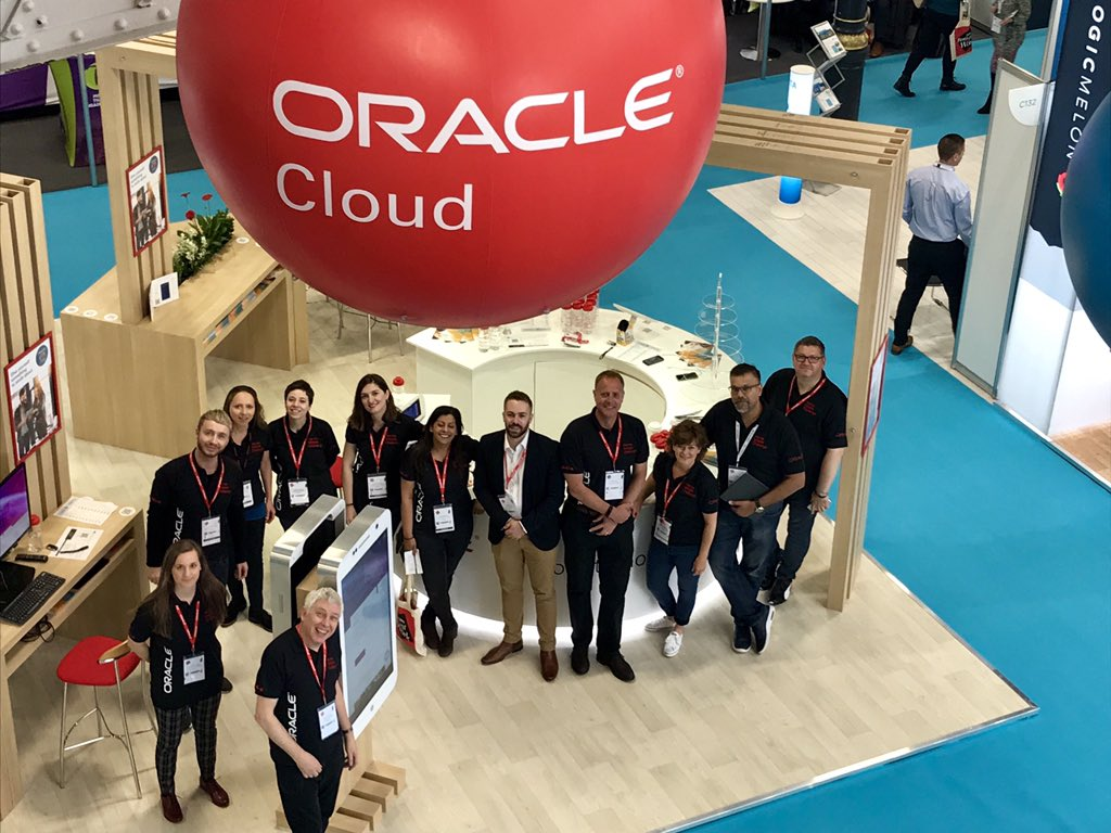 What a dream team! The wonderful @OracleHCM gang at the #CIPD @FestivalofWork , Stand B130- make sure to stop by! #Oracle #HR #FestivalofWork