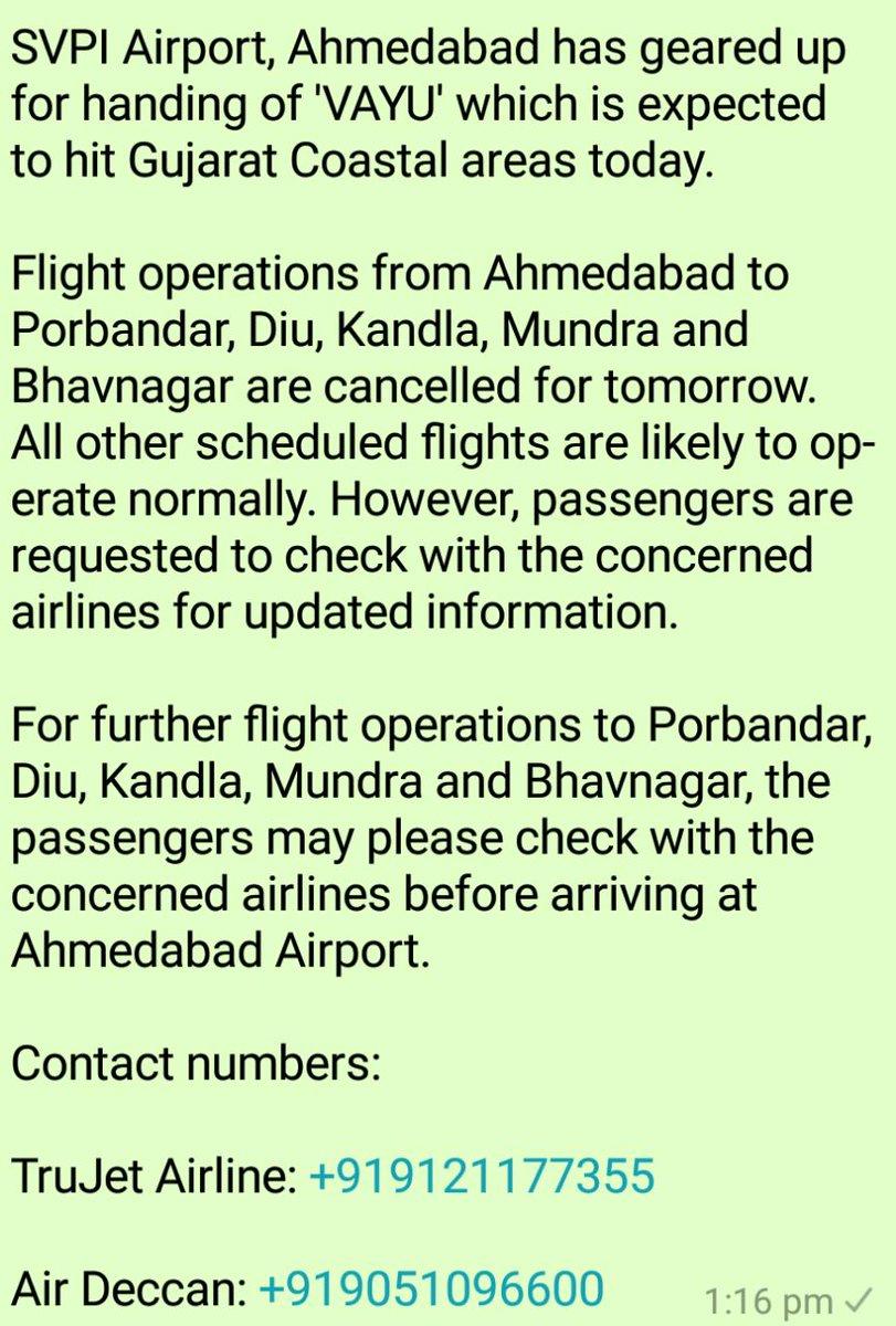 APD Ahmedabad (@aaisvpiairport) on Twitter photo 2019-06-12 08:42:18