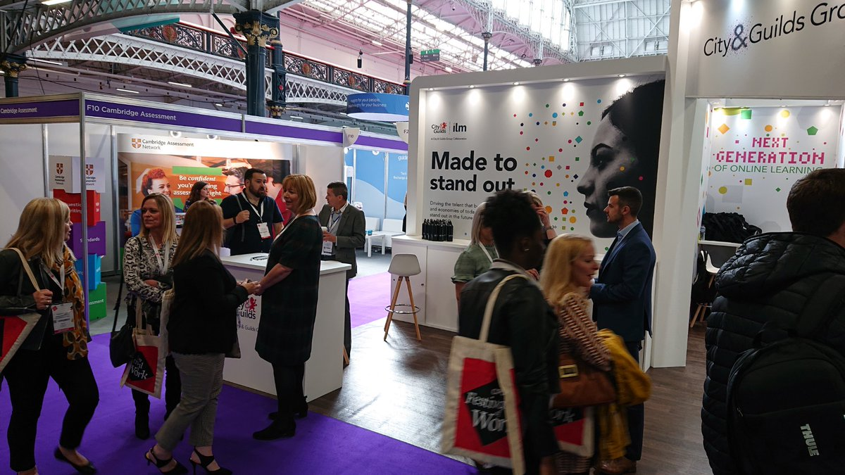 If your organisation is discussing internally #apprenticeships, and are interested in exploring how they can drive talent in your business, visit stand F20. @CIPD_Events #FestivalofWork @ILM_UK @CityGuildsGroup