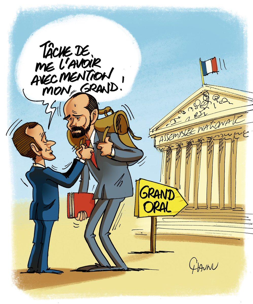 Grand oral pour Edouard Philippe D82Y8c7XkAAH1JW
