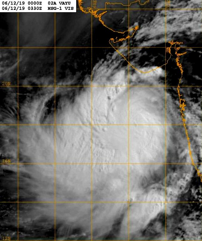 Next 50 to 60 hours extremely crucial for Gujarat in the wake of cyclone VAYU: Coast Guard commander