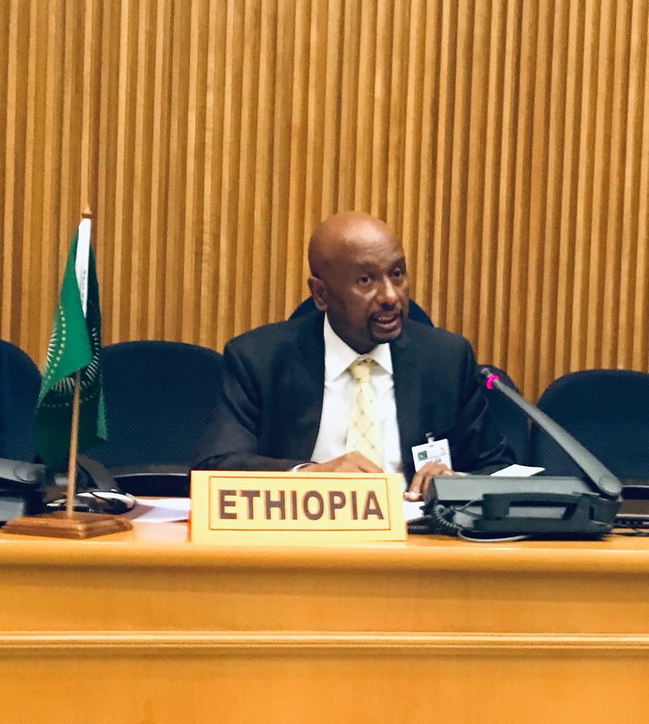 📢H.E. Dr. Eng. Seleshi Bekele utilised his speaking time at @_AfricanUnion & @IEA First Ministerial Forum to present opportunity of an #African #EnergyTransition platform at #ClimateActionSummit on 23 September. Essential to mobilise investments to achieving access for all #SDG7