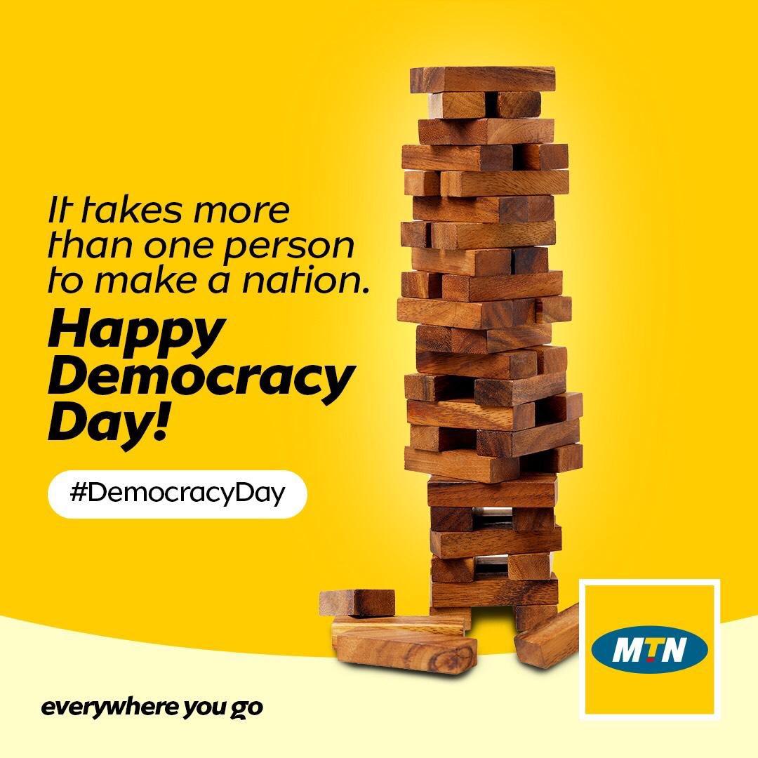 @MTNNG's photo on #DemocracyDay