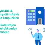 Image for the Tweet beginning: Energiaviisailla kaupungeilla kokeilussa #energiatehokkuuskumppanuus. Tavoitteena