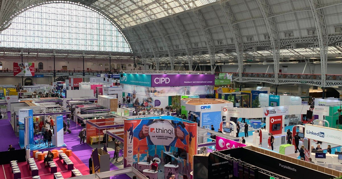 How amazing is @CIPDs @FestivalofWork looking? 😍 If youre looking for #HRSoftware, why not drop by stand C100 and have a chat with our friendly team? 🖥️ #HR #FestivalOfWork