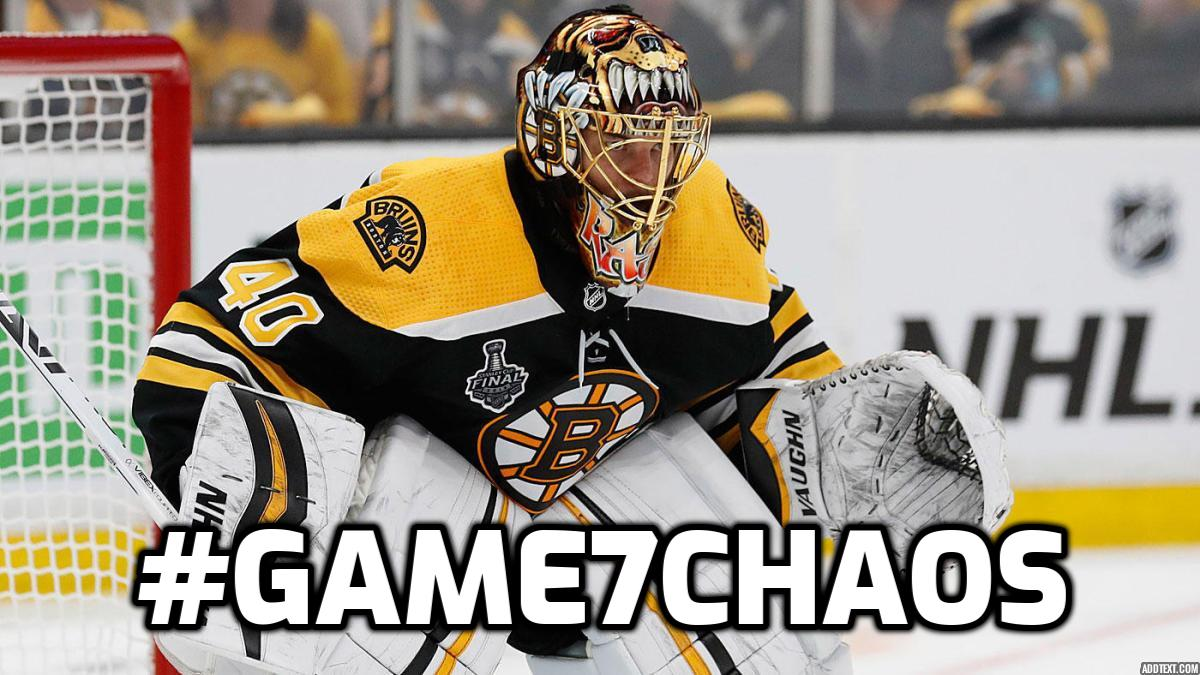 HERE WE GO.#Game7Chaos