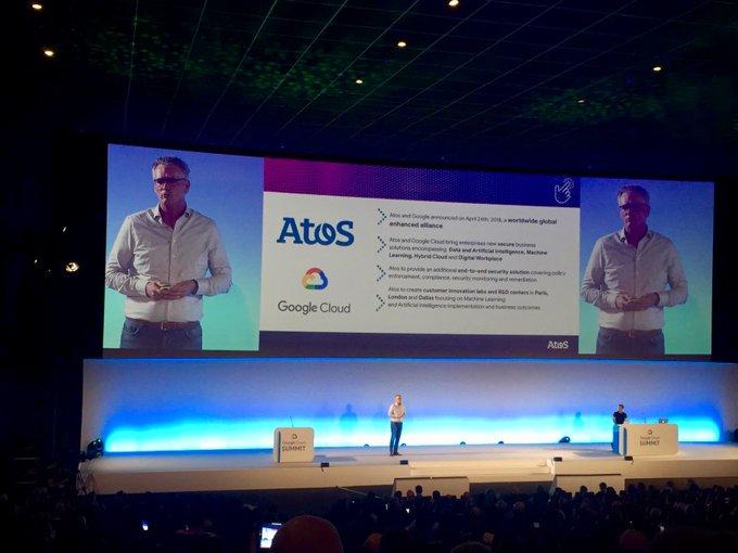 @WimLos nos cuenta los detalles de la alianza entre @googlecloud y @Atos. La...