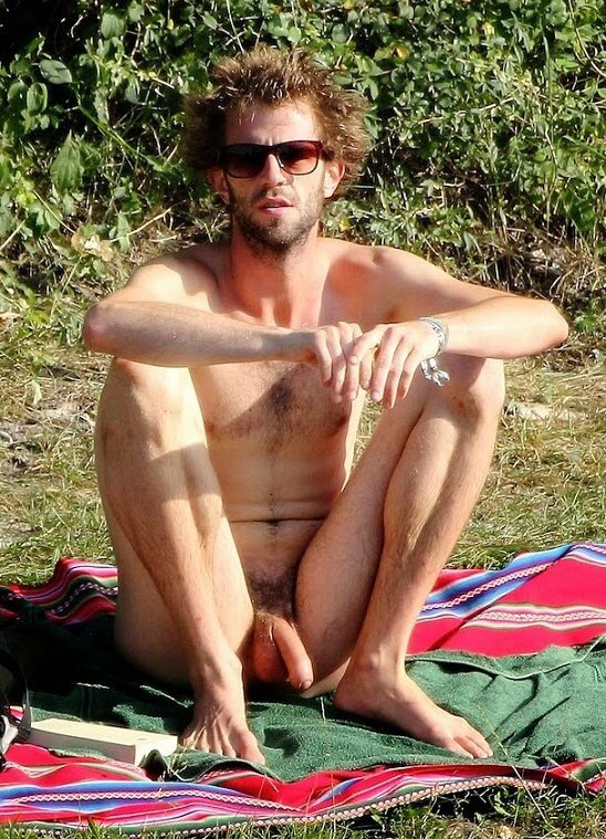 Naked men without panties