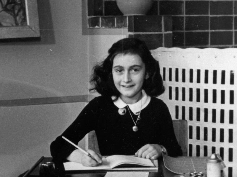 """Anne Frank, a brave 13 year old writing in her dairy revealed a deep sense of concern for people with inspiring life messages.   """"Human greatness does not lie in wealth or power, but in character and goodness""""- Anne Frank #AnneFrank90 #ThinkBigSundaywithMarsha  #Leadership<br>http://pic.twitter.com/18i6I3ueTO"""