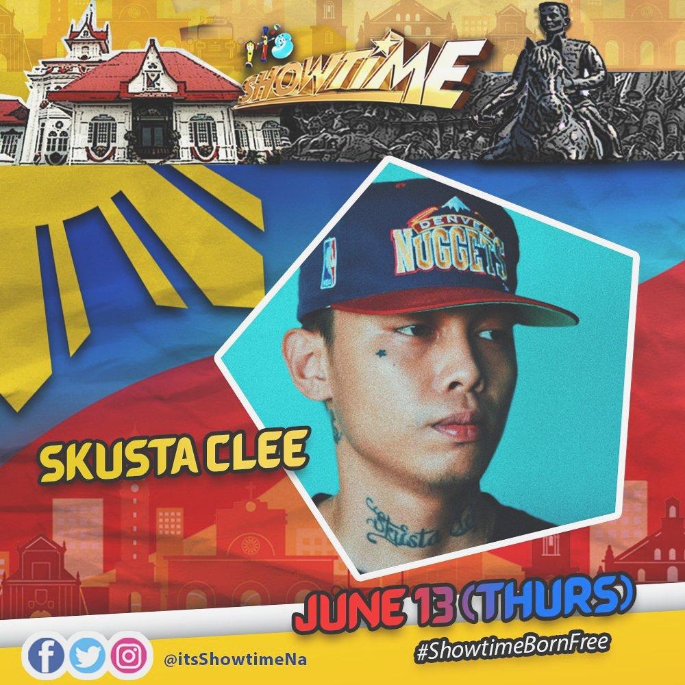 It's Showtime - Twitter Photo - Hayaan Mo Sila, SKUSTA CLEE gonna