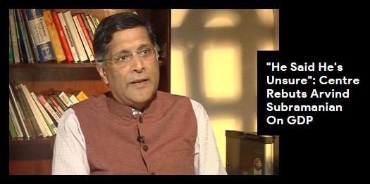 "Lead story now on http://ndtv.com :""Arvind Subramanian unsure"", says centre after former chief economic advisor says ""growth overestimated"" https://www.ndtv.com/india-news/he-said-hes-unsure-centre-rebuts-arvind-subramanian-on-gdp-2052099 …#NDTVLeadStory"