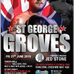 Image for the Tweet beginning: George Groves boxing event @theheathbuspark