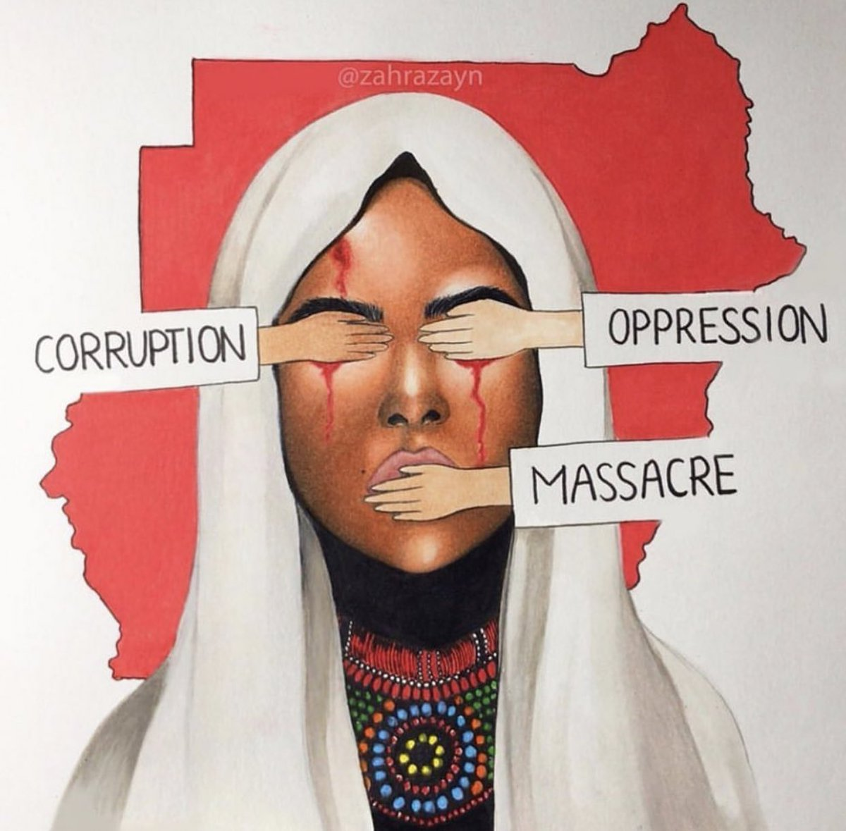 Give Sudan the same energy you gave an empty building in Paris. #SudanMassacre