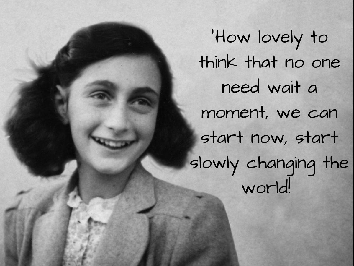 Today is the birth anniversary of Anne Frank, the wise young diarist whose words have moved millions of readers. Here are some quotes from her diary that might help you find the strength to smile in hard times, as she did:  https:// tinyurl.com/y3y6qveo       #AnneFrank90 <br>http://pic.twitter.com/XopObGoTyU