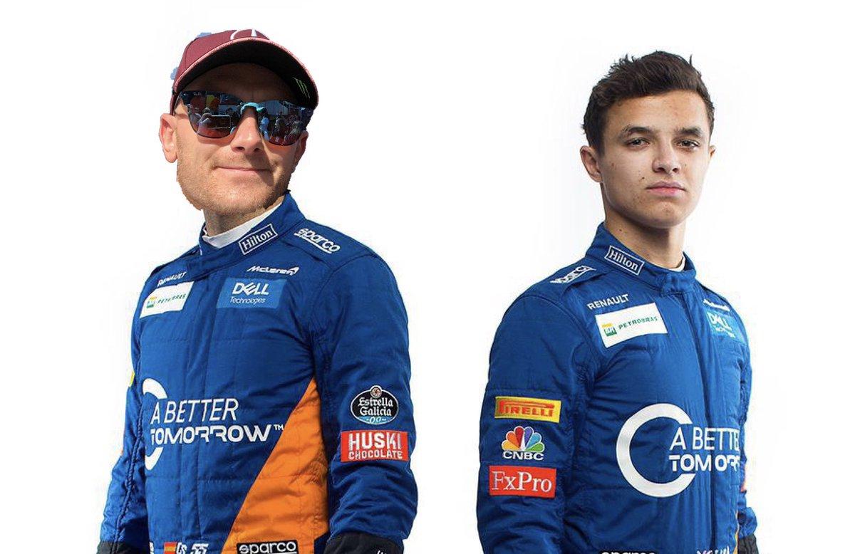 Sorry @Carlossainz55 but it looks like I'll be making my @McLarenF1 debut alongside @LandoNorris in Monza. 🇮🇹 https://twitter.com/McLarenF1/status/1138468395337355264…