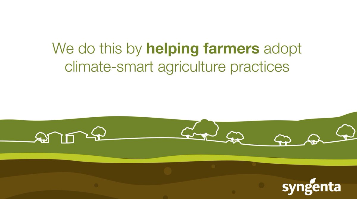 We help farmers adopt #ClimateSmart #Agriculture so they can provide enough safe + nutritious food for a growing population while taking care of the planet: https://t.co/79jePu44D4 https://t.co/OmvSXfkK44