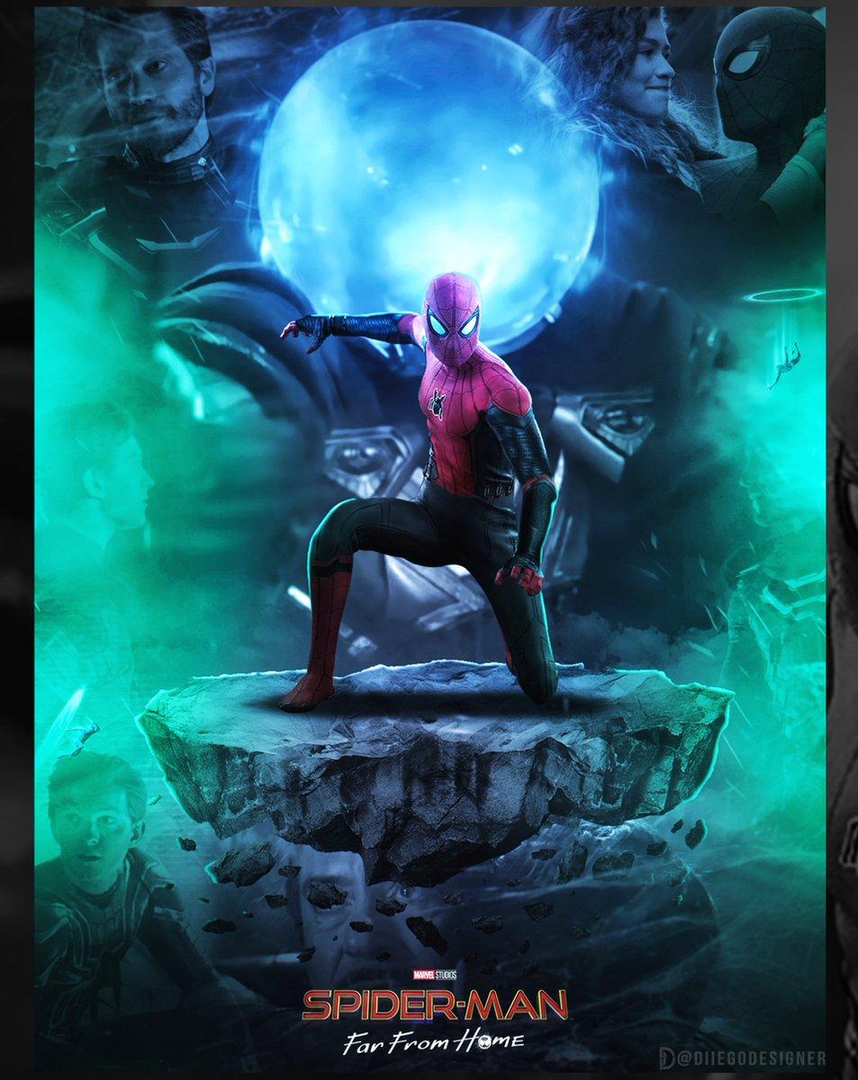 Daily Photoshop Practice // @SpiderManMovie - #comicbook