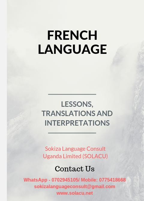 Sokiza Language Consult (U) LTD (@SOLACU1) | Twitter