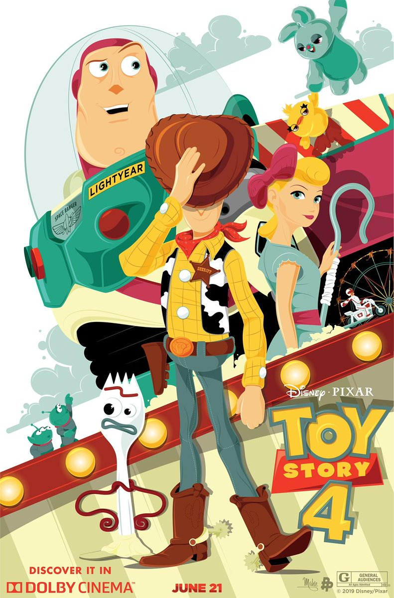 Attention @Pixar Fans! You are invited to a special preview screening of #ToyStory4 in select @DolbyCinema locations. This event includes a bonus sneak peek at what's coming soon from Pixar Animation Studios. Get tix here: http://bit.ly/2KLDk5y