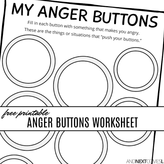 image relating to Anger Management Printable Worksheets known as Totally free printable indignant ons worksheet printable anger