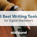 Need some help with writing content? Here 5 Best Writing Tools for Digital Marketers. https://t.co/gOnNdcjr2y