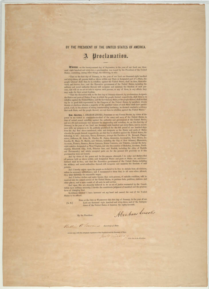 join me for a special #Juneteenth conversation looking closely at materials from @bostonathenaeum's special collections including a signed copy of the Emancipation Proclamation, next wednesday, june19...  #race #gender #boston #library #research #history  https://www.bostonathenaeum.org/events/6461/tubman-command-novel…