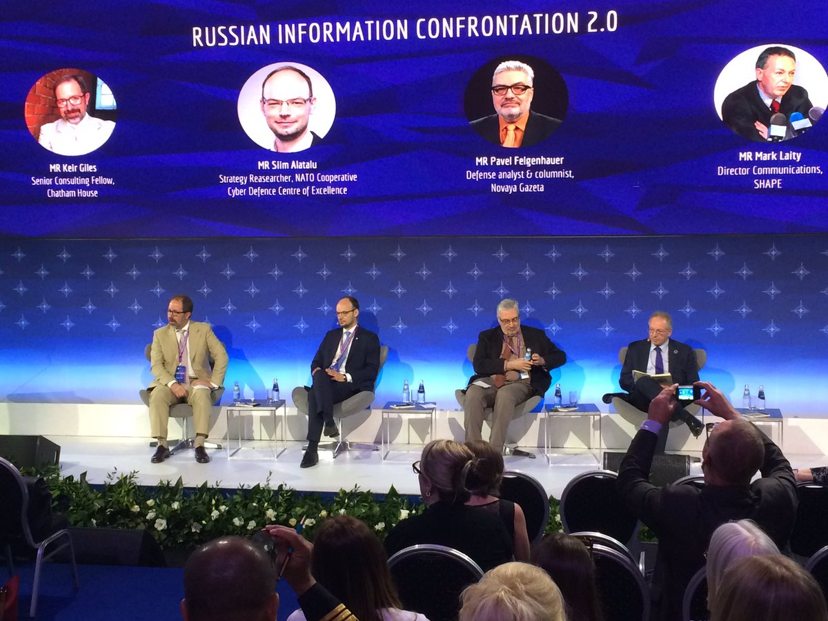 #rigastratcom @KeirGiles: Cyber and informaction weapons also rust, and if Russia hasn't used deepfakes now, maybe it's not going to use it as the moment of surprise is already gone? Beginning discussion on Russian disinformation confrontation 2.0