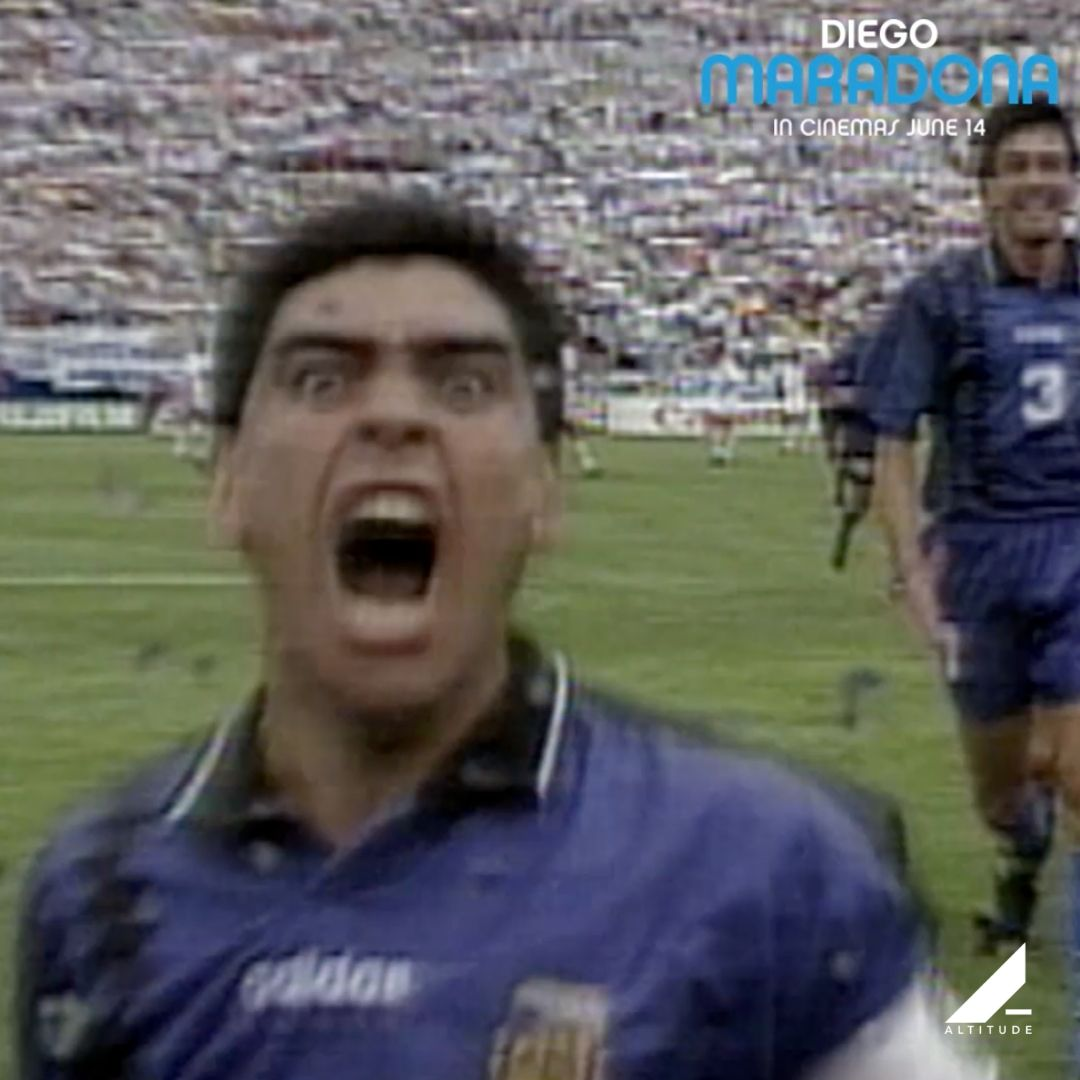DIEGO MARADONA is still available in select cinemas across the UK. Dont miss it! diegomaradona.movie