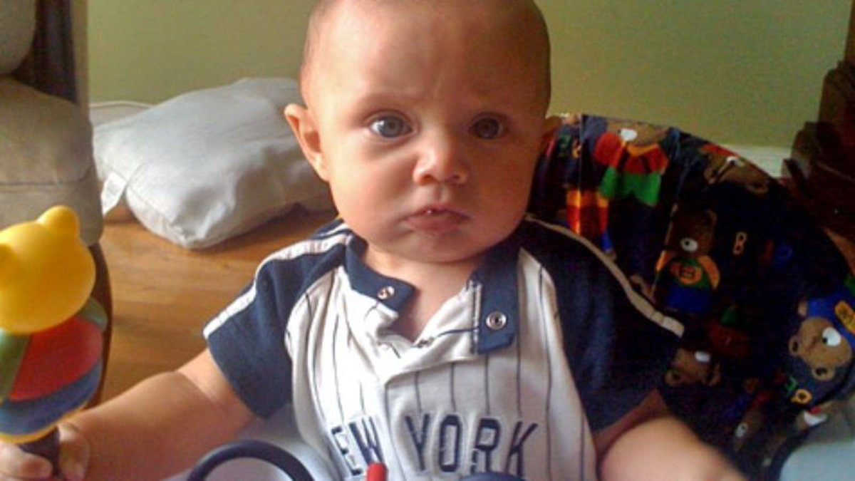 Baby Loses Train Of Thought https://trib.al/aoE8SMo