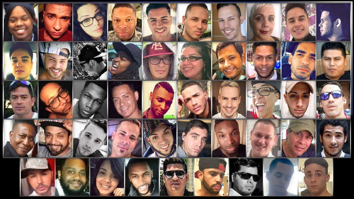 Today, we remember all 49 of you. 💜💙💚💛🧡💔#OnePulse