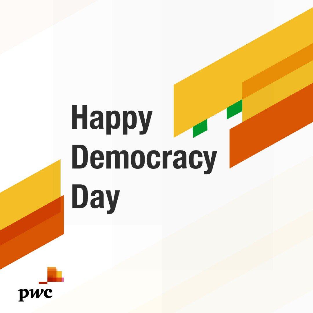 @PwC_Nigeria's photo on #DemocracyDay