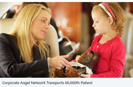 #Sixty #Thousand #Patients #Transported -  #Outstanding #BizAv #Community #Humanitarian #Efforts #Example - #Thanks to @CorpAngelNet and to All Providing #Services to This #Great #Organization -  #BizAvJets #BizAvWorks #NoPlaneNoGain #NBAA  https://noplanenogain.org/corporate-angel-network-transports-60000th-patient/…