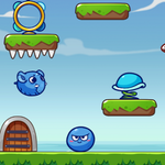 Image for the Tweet beginning: Play Jumpy Blob free on