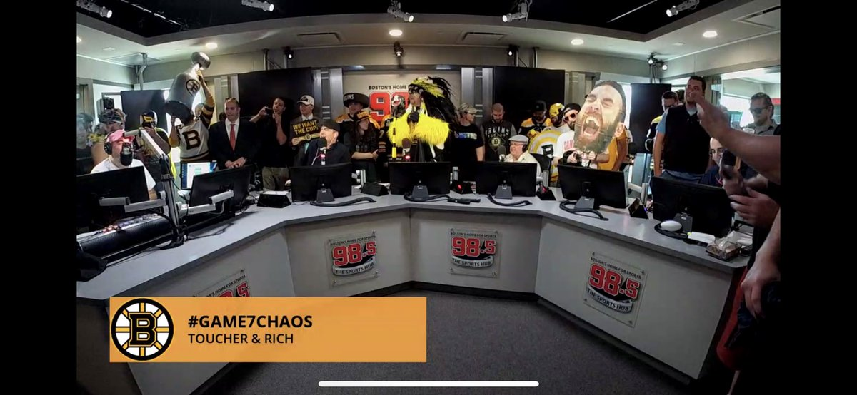 @Toucherandrich #Game7Chaos look at this freaking crew!!!