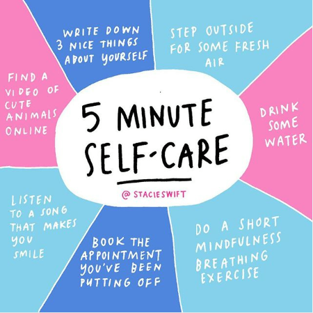 It's so easy to become overwhelmed by everything we're expected to achieve in life, or even on a daily basis. Whether it's work, running your own business 🙈, your health or home life causing you stress (or all the above) let's take 5 minutes for some #selfcare #WellnessWednesday