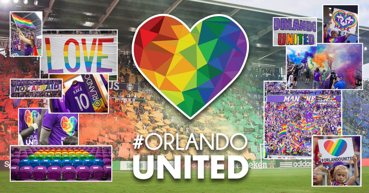 Always remembered. Always #OrlandoUnited. 🏳️‍🌈