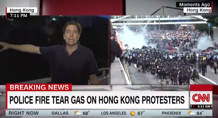 Shades of Tiananmen? China orders police to tear-gas million-plus protesters holding up extradition bill https://hotair.com/archives/2019/06/12/shades-tiananmen-china-orders-police-tear-gas-million-plus-protesters-holding-extradition-bill/?utm_source=Twitter&utm_medium=social&utm_term=shades-tiananmen-china-orders-police-tear-gas-million-plus-protesters-holding-extradition-bill&utm_content=0&utm_campaign=PostPromoterPro…