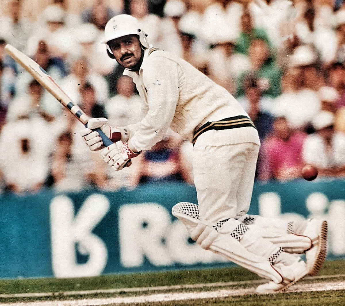 Happy Birthday to one of the legends of the game @ItsJavedMiandad . One of the smartest brains in cricket and an amazing fighter on the cricket field. #HappyBirthday #JavedMiandad #Pakistan