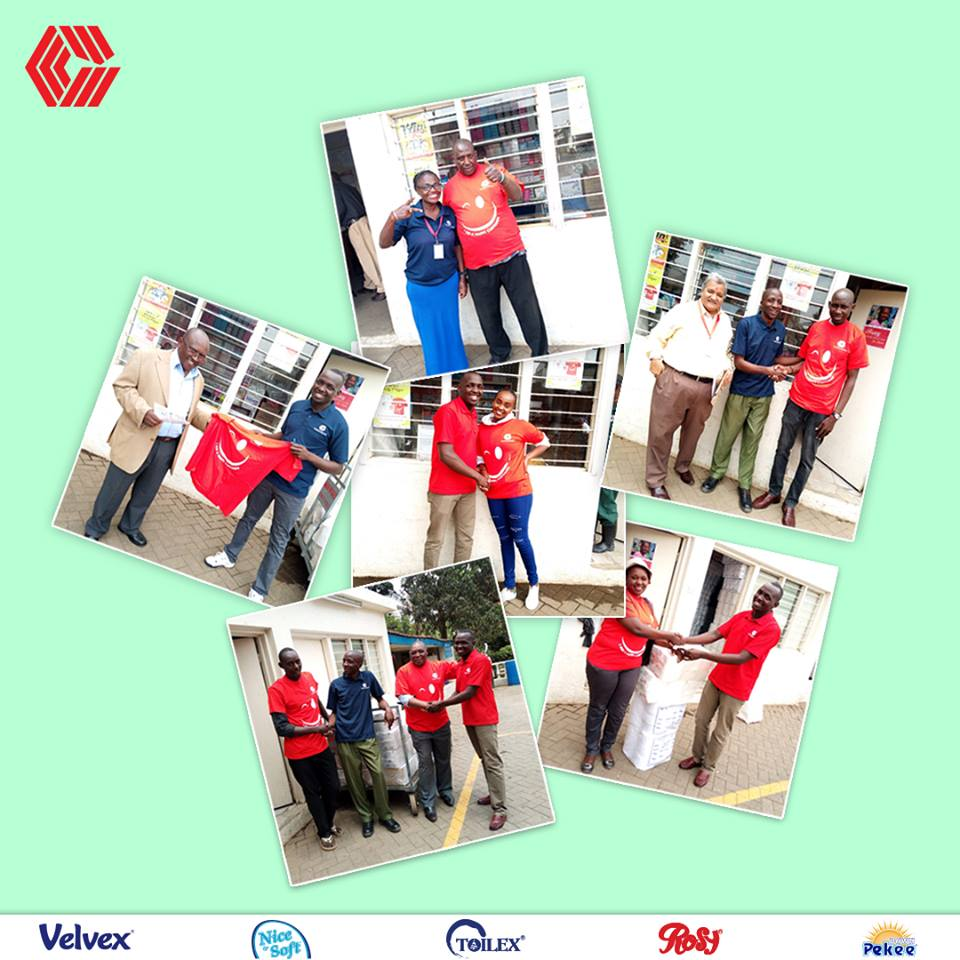 Our customers' happiness is our biggest satisfaction. #Celebrating55Years #CustomerAppreciation #WisdomWednesday #55YearsOfTogetherness #55YearsOfTissueandHygiene #55YearsOfServingYou #MakingKenyaProud #55thAnniversary<br>http://pic.twitter.com/DY7dCniR6l