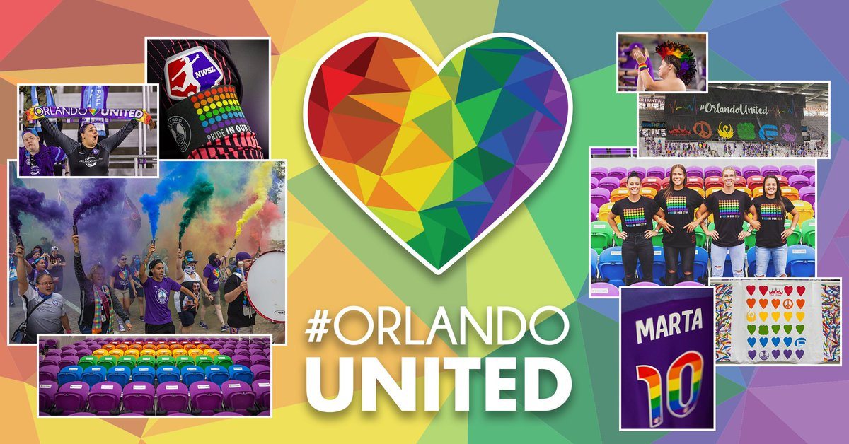 Never forgotten. We are all #OrlandoUnited. 🏳️‍🌈
