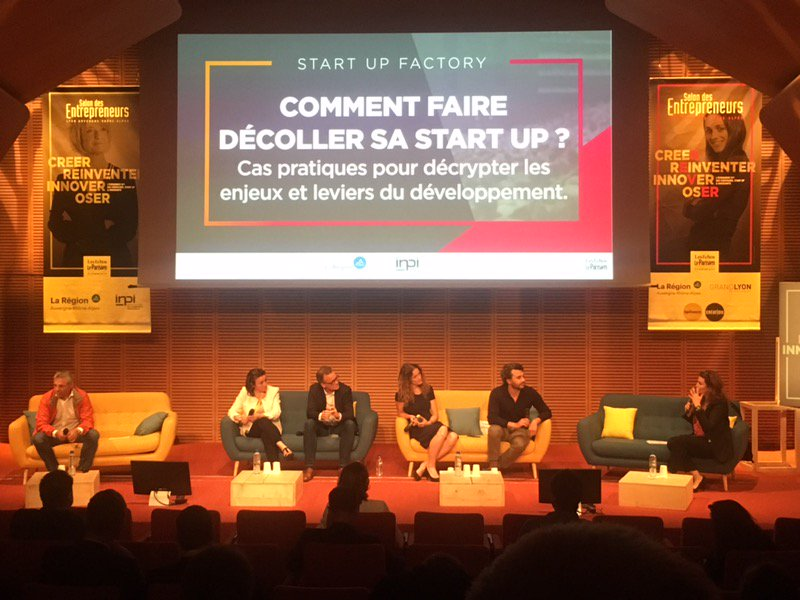 The introductions are underway here at the #startup plenary session in #lyon with @cosmotechweb's @hdebantel center stage. #SDE2019 <br>http://pic.twitter.com/mQZZxqlDbG