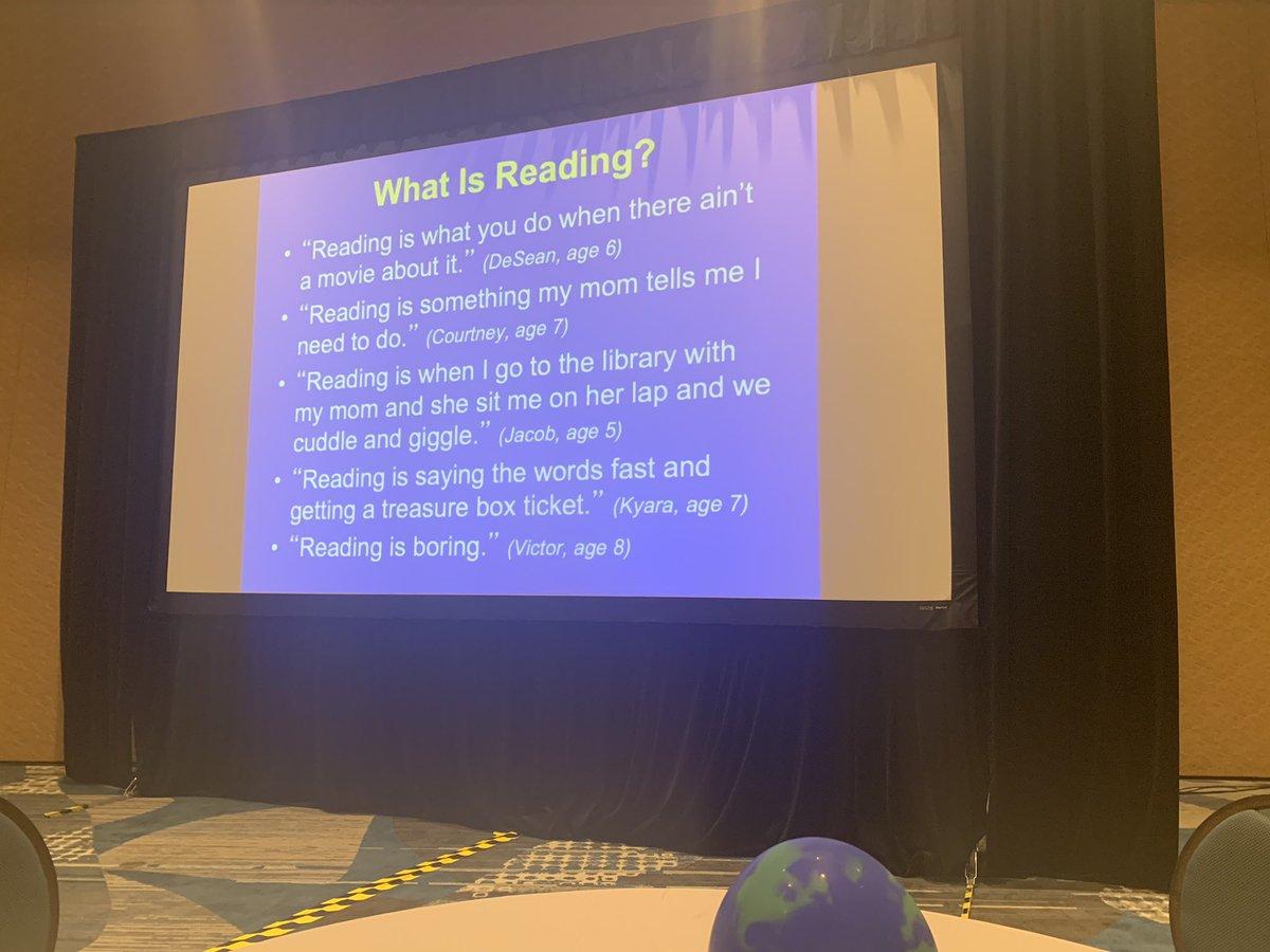 What is reading?  #dannyspeaks #MCPacademy2019<br>http://pic.twitter.com/DEiewUCDxs