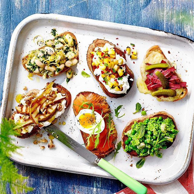 Bruschetta ideas in the months @coopuk mag. Food styling @lucyjessopfood http://bit.ly/2Ieatp7