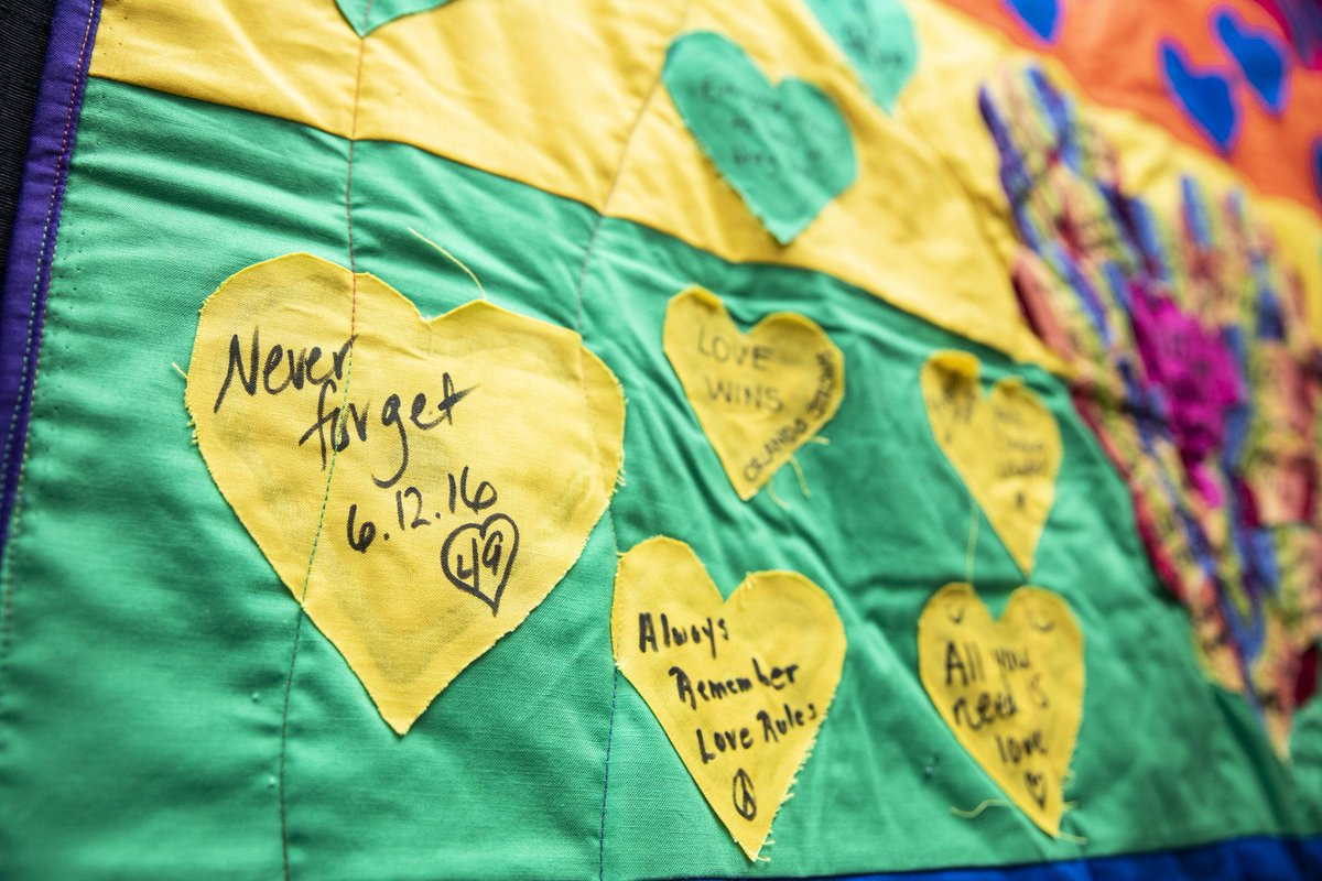 Three years ago, 49 lives were senselessly taken from our community. Today we honor those individuals and families by showing kindness and love to those around us. #OrlandoStrong
